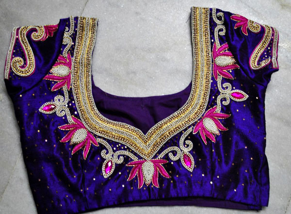Latest-Maggam-Work-Blouse