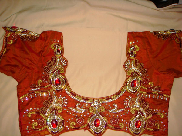 Mango-design-work-blouse