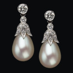 diamond-trefoile-pearl-drop-earrings