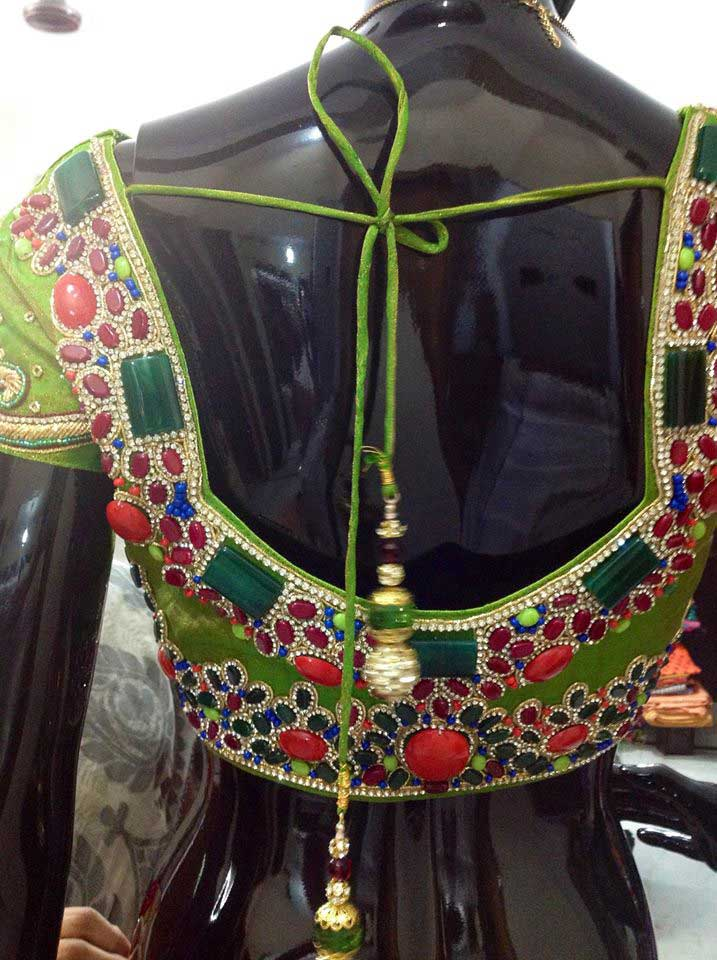 Latest-designer-work-blouse