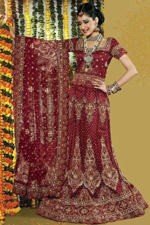Stylish-bridal-lehenga-choli