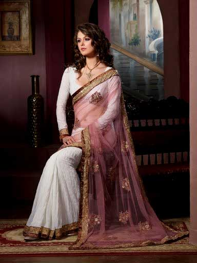 Full sleeve saree blouse designs