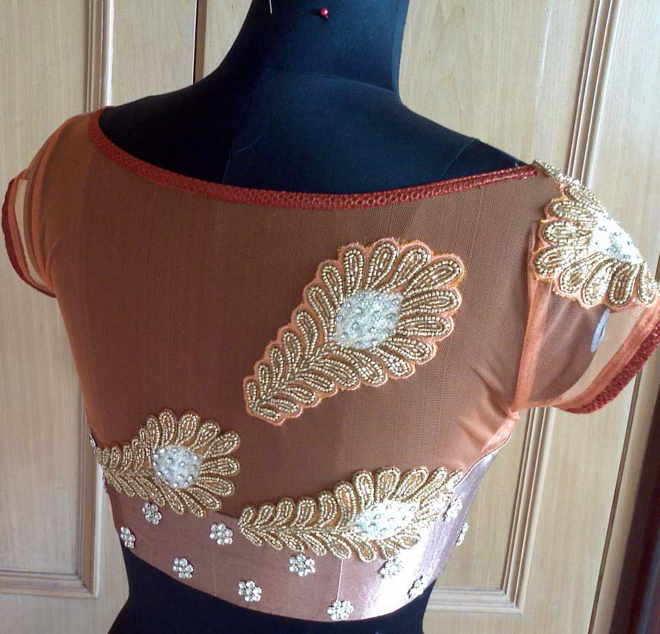 Indian blouse neck designs blouse designs with border