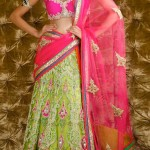 pinke-green-half-saree