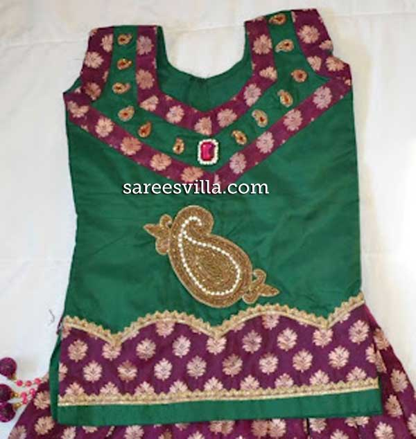 Banaras-patch-blouse-design