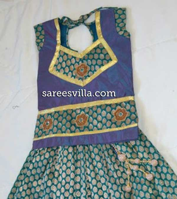 Kids-banaras-blouse-design