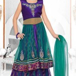 Green-Blue-Lehenga-Choli