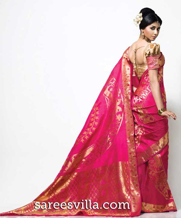 Pink-Pure-Silk-Saree