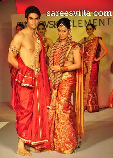Sneha-Wedding-Saree