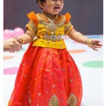Yellow-red-lehenga