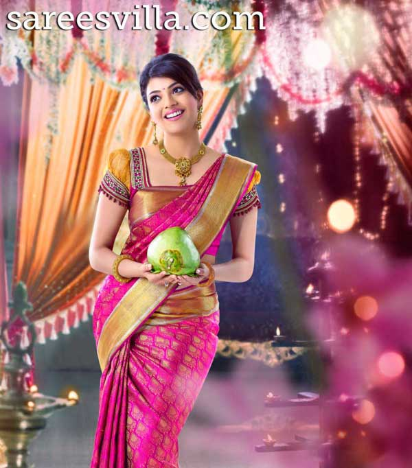 kajal-weddng-saree