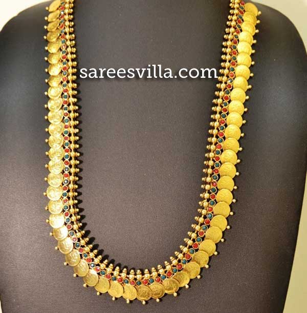 Traditional Laxmi Haar Coin Necklace