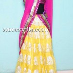 Designer Party Wear Half Saree