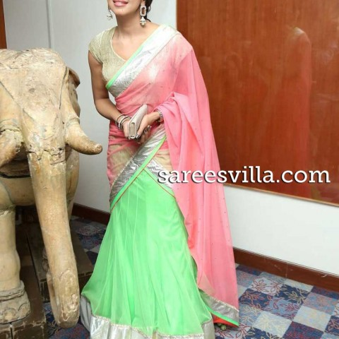 sanjana-in-designer-half-saree