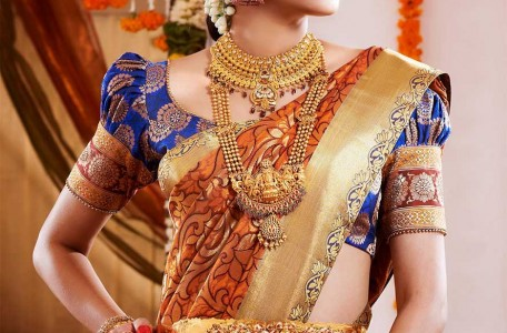 South Indian Wedding Saree
