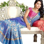 Anushka Shetty in Silk Saree