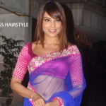 Bipasha Basu in Bangs Hairstyle