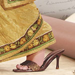 Footwear for Saree