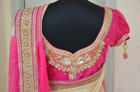 Maggam Work Bridal Blouse