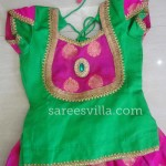 Green Designer Kids Blouse