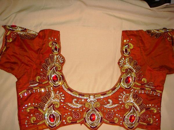 Mango-design-work-blouse