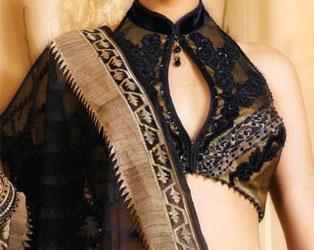 black-saree-blouse