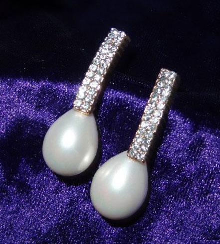 pearl-diamond-eartops