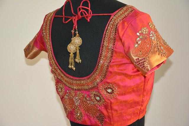 Heavy-stone-work-blouse