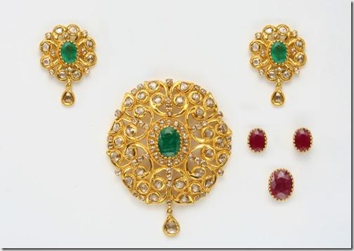 Uncut_ruby-emerald-pendant
