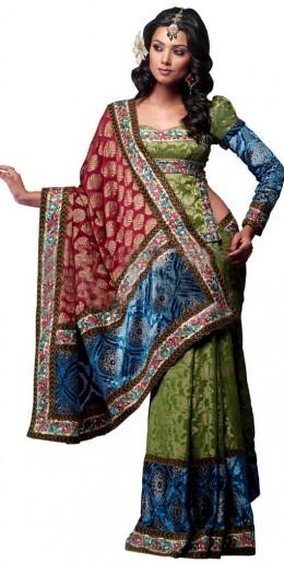 Designer Full Sleeve Blouse Design