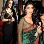 Vidya and Shreya in Full Sleeve Blouse