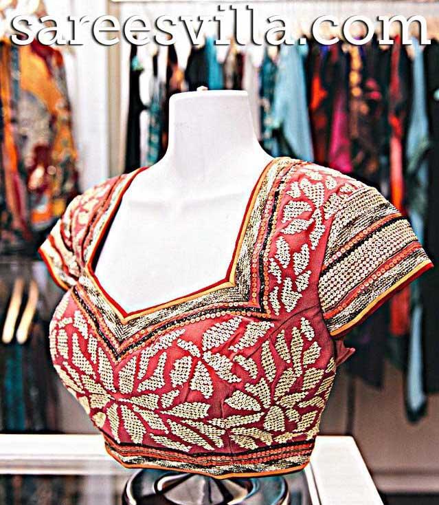 Latest-work-blouse
