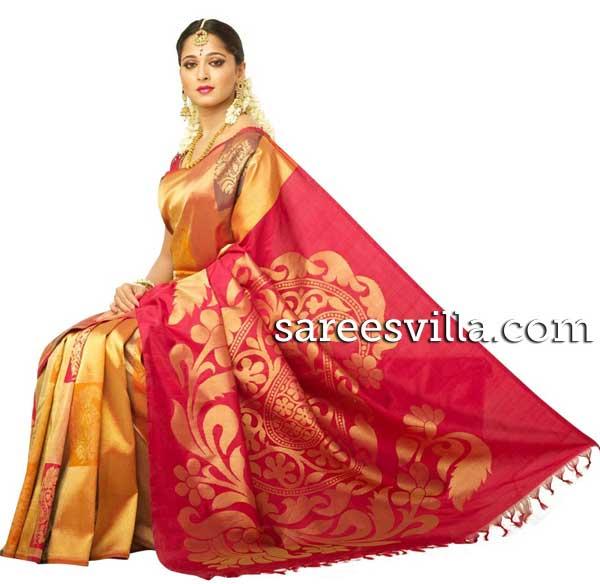 Wedding Kanchi Pattu Sarees Kanchipuram Silk Saree