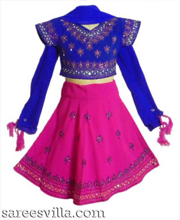 Rani-Pink-Blue-Lehenga-Choli