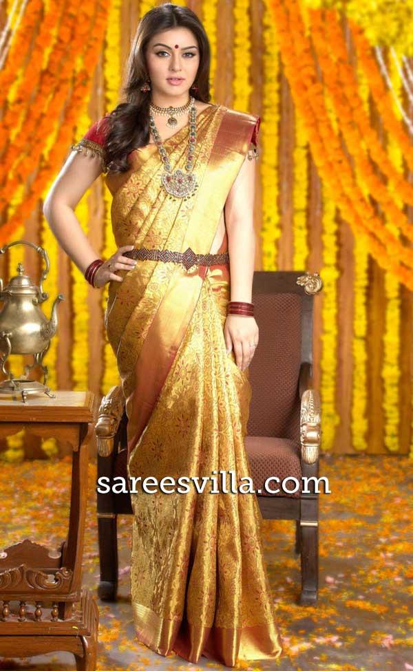 Hansika Wedding Saree