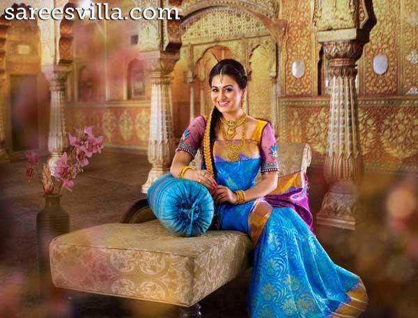 latest-designer-wedding-saree