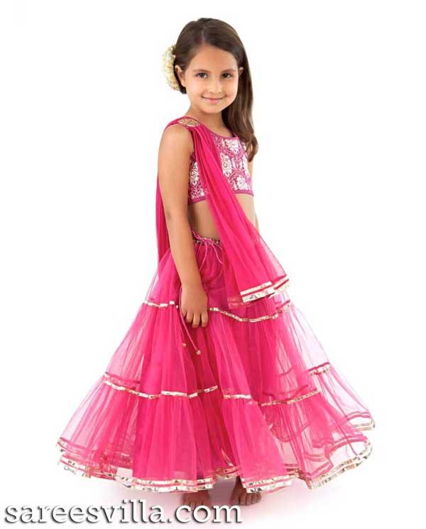 Pink-Lehenga