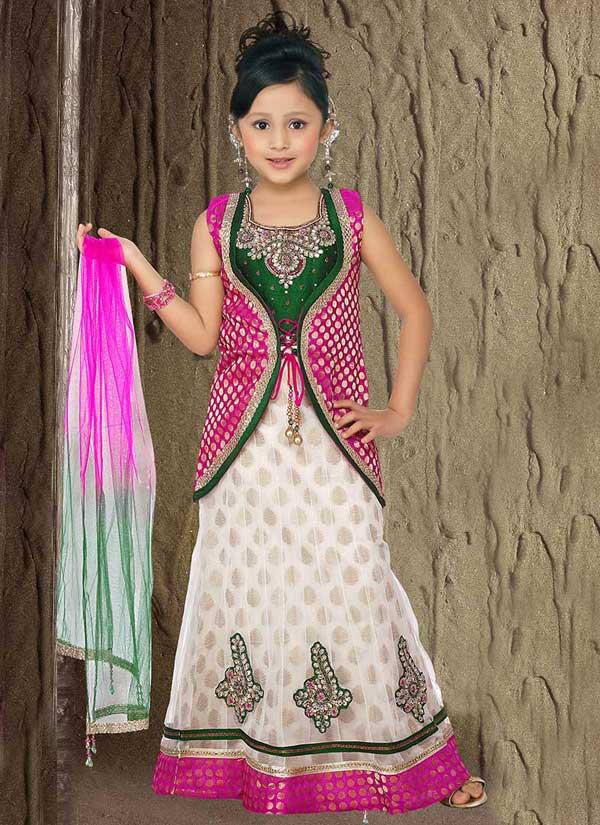 White-Pink-Lehenga-Choli