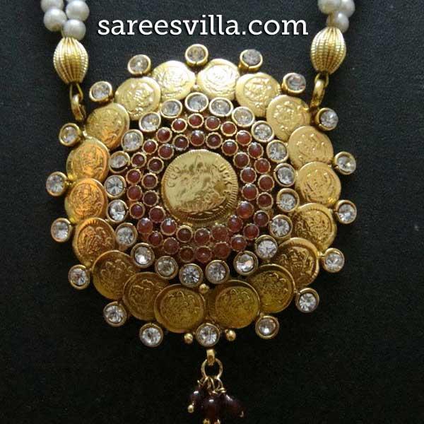 Lakshmi Dollar Pendant