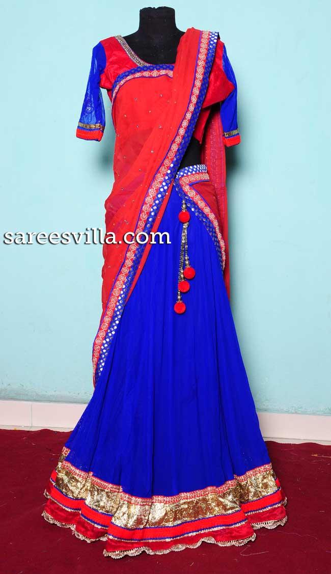 Stylish Half Saree