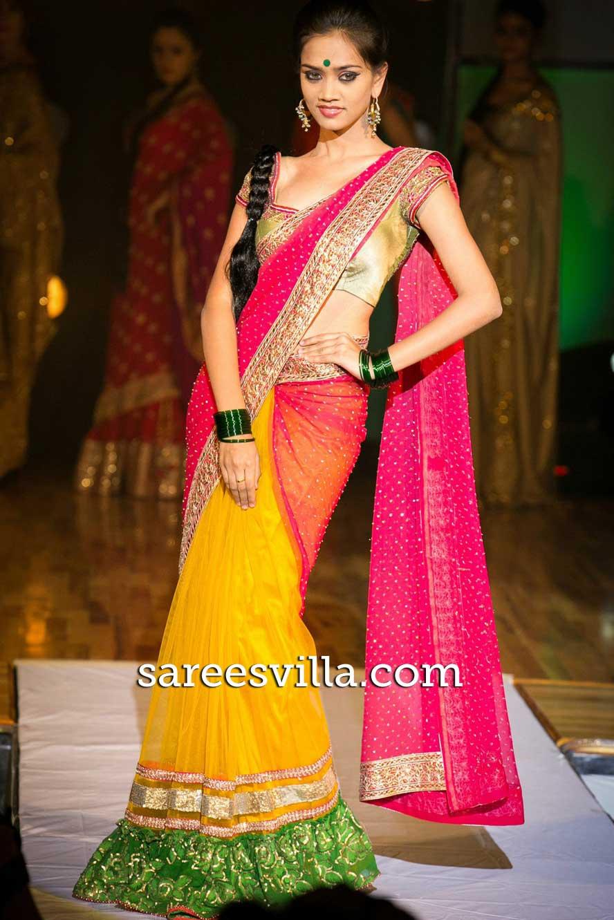 Half Sarees Half Saree Designs Collection Sarees Villa