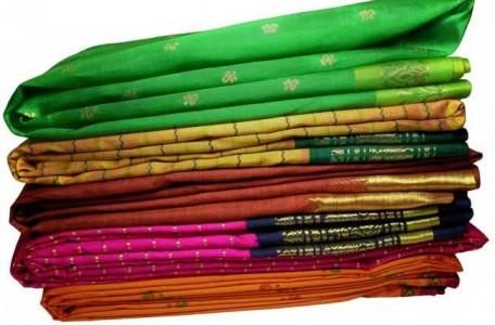 Folded Sarees