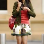 Genelia in Skirt