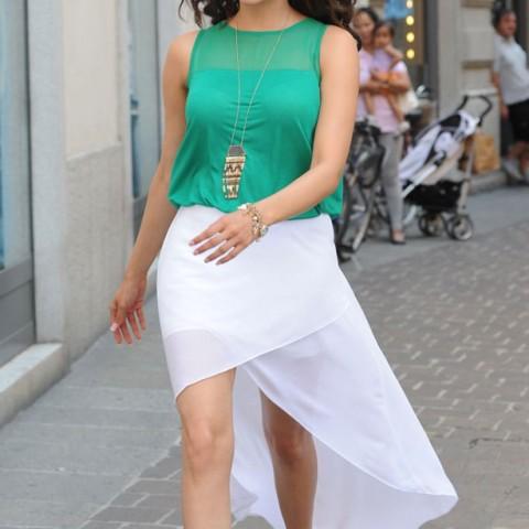 Kajal Agarwal in Skirt
