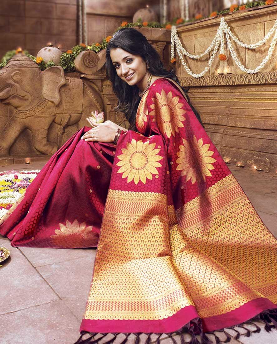Maintain Silk Sarees on Indian Patterns
