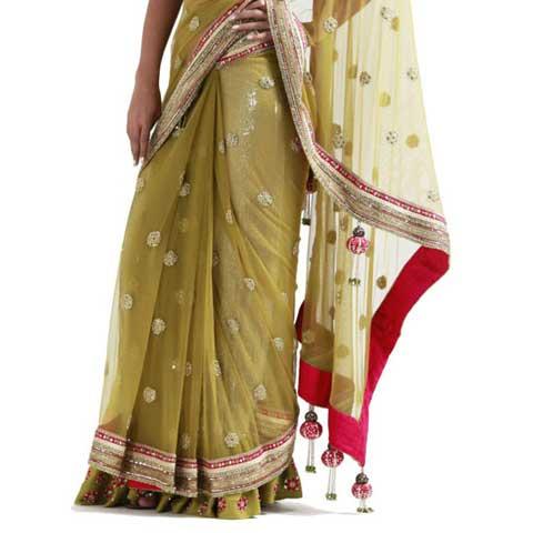 Designer Saree Petticoat
