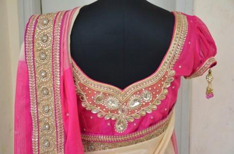 Maggam Work Bridal Blouse