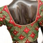 Maggam Work Bridal Designer Blouse