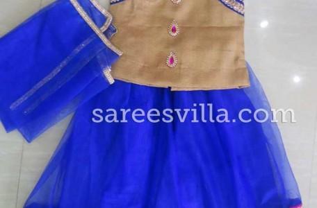 Blue Designer Lehenga